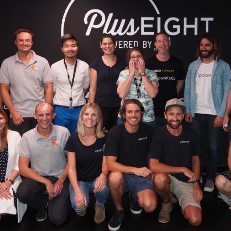 Plus Eight 2018 group